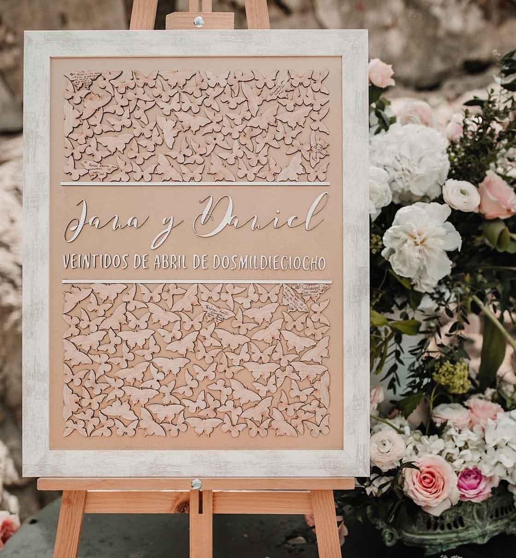 Cuadros de firmas El jardin romantico