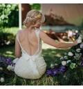 Arco floral para boda