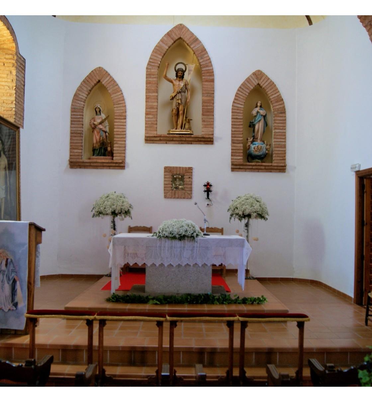 Decoración Iglesia de San Juan Bautista de La Puebla de Don Rodrigo