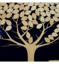 Cuadro de firmas hucha árbol