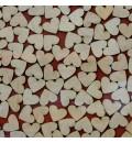 Cuadro de firmas hucha corazón central rojo