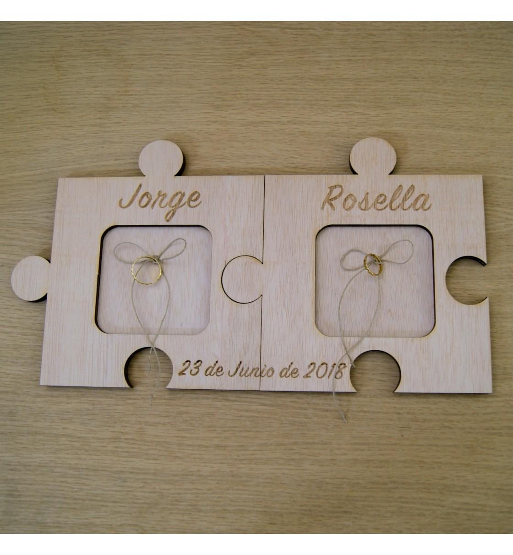 Puzzle para anillos de boda