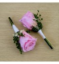 Prendido de  solapa rosa rosa