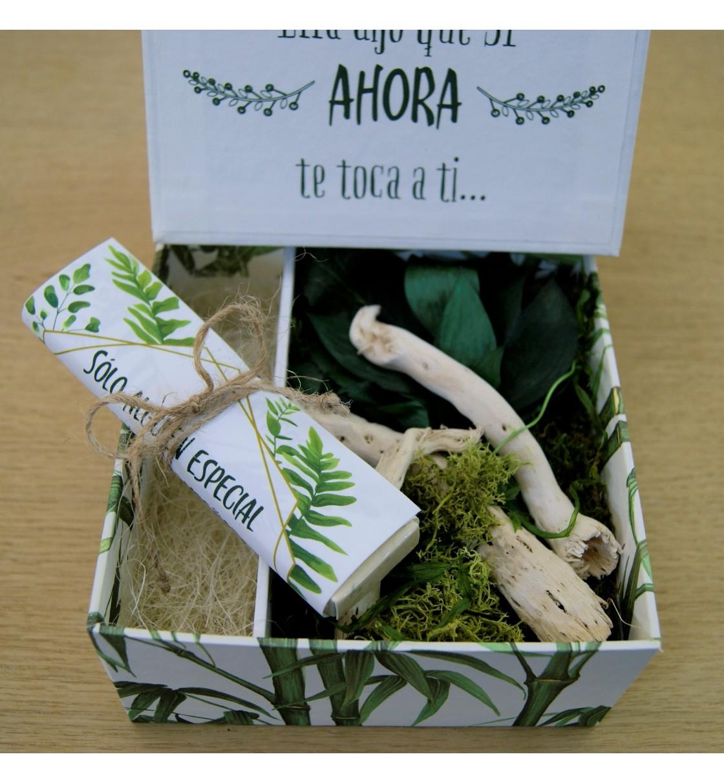 Bolígrafo para testigo de boda en caja de regalo hombre
